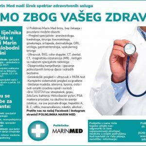Tu smo zbog Vašeg zdravlja!
