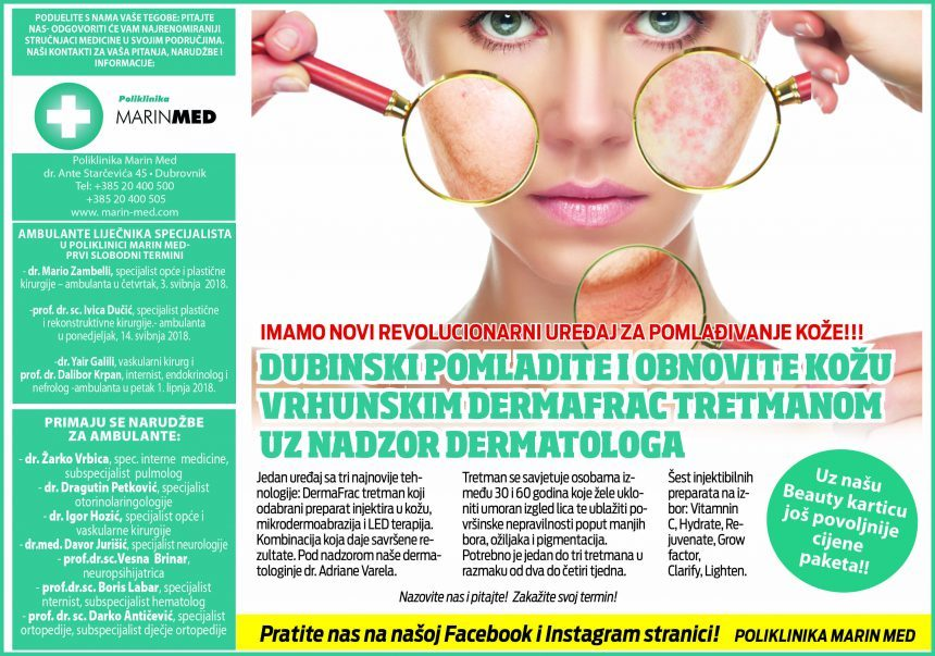 Dubinski pomladite i obnovite kožu vrhunskim DermFrac tretmanom uz nadzor dermatologa