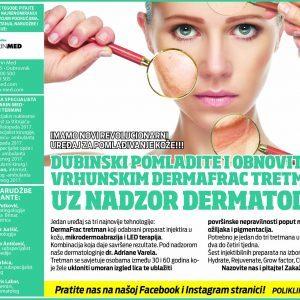 Dubinski pomladite i obnovite kožu vrhunskim Dermafrac tretmanom uz nadzor dermatologa