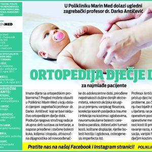 Ortopedija dječje dobi za naše najmlađe pacijente