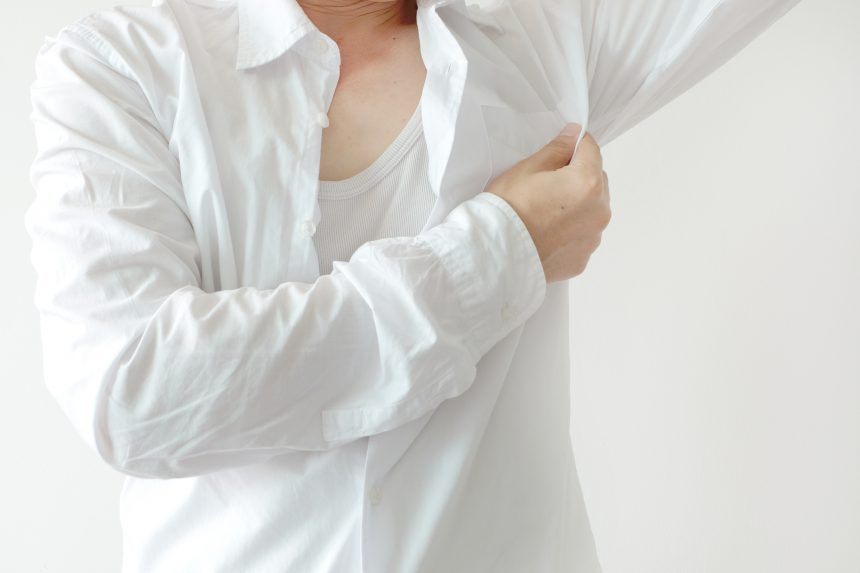 Implementation of botox against excessive sweating!