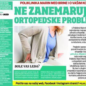 Ne zanemarujte ortopedske probleme!