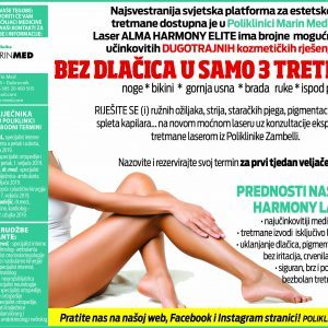 BEAUTY PRIPREME ZA LJETO:   LASEROM DO GLATKE KOŽE