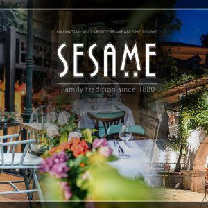 Get your 10% discount by visiting both the restaurant Sesame and the Marin Med Clinic in Dubrovnik