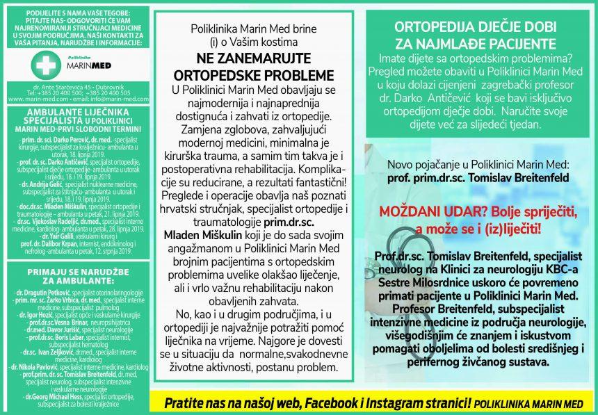 Ne zanemarujte ortopedske probleme