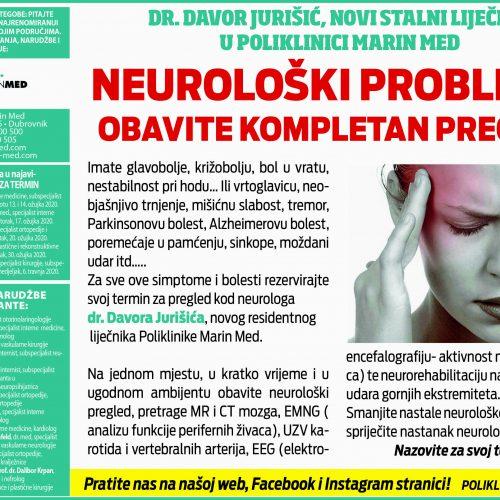 Neurološki problemi?